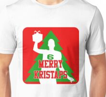 Merry Kristaps - Red Unisex T-Shirt