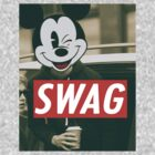 swag disney t-shirt by fabbri