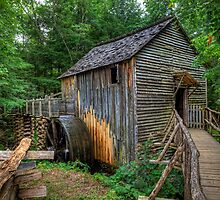 Scenic Grist Mills by Jerry E Shelton