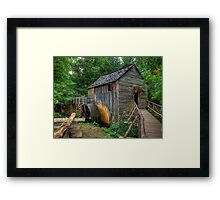 Cable Grist Mill Framed Print
