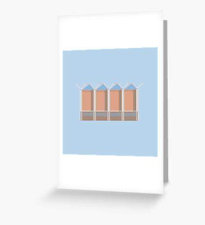 Penguin Warehouse Greeting Card