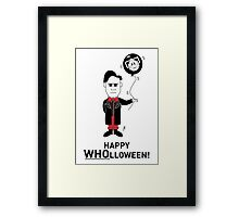 Dr Who Halloween Card 2 Framed Print