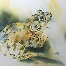 Bul-Frog by Bev  Wells