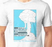 Free from weapons of mass destruction Unisex T-Shirt