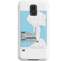 Free from weapons of mass destruction Samsung Galaxy Case/Skin