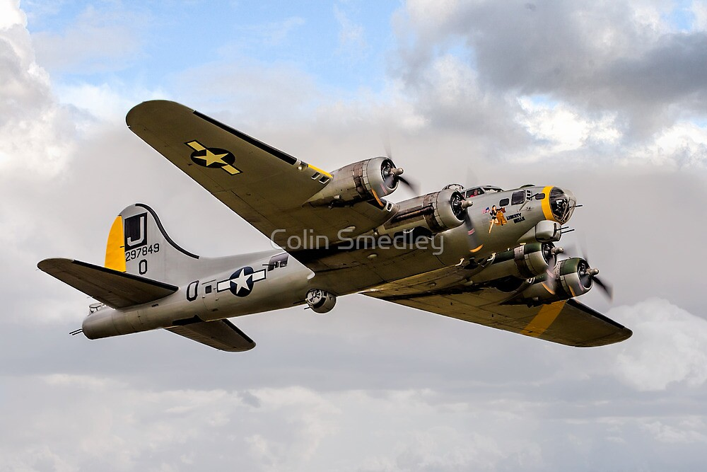 """Boeing B-17G 44-85734 N390TH """"Liberty Belle"""" by Colin Smedley"""