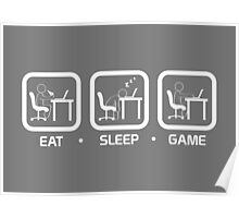 Eat, Sleep, Game (PC Version) Poster