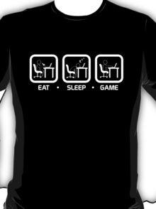 Eat, Sleep, Game (PC Version) T-Shirt
