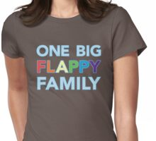 One big flappy Autistic family Womens Fitted T-Shirt