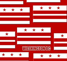 Iphone Case - Flag of Washington DC 3 by Mark Podger