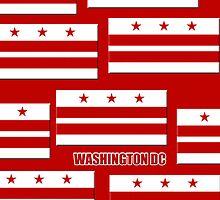 Smartphone Case - Flag of Washington DC 3 by Mark Podger