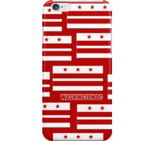Smartphone Case - Flag of Washington DC 3 iPhone Case/Skin