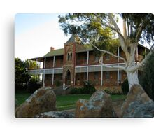 The Old Convent, Northampton, Western Australia Canvas Print