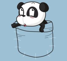 T-Shirt Pocket Panda by mullian