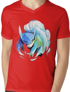 Wartortle Mens V-Neck T-Shirt
