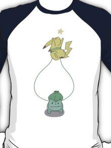 Bulbasaur and Pikachu T-Shirt