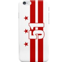 Smartphone Case - Flag of Washington DC 5 iPhone Case/Skin