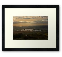 Lough Eske and Donegal Bay Framed Print
