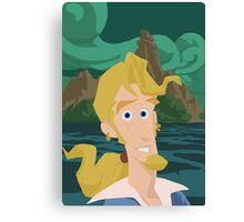 Guybrush Threepwood Canvas Print