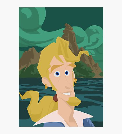 Guybrush Threepwood Photographic Print