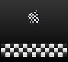 Finish [Black + Apple Logo] by voGue