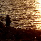 Sunset Fishing by WildThingPhotos