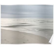 Sea impessions (Silver) Poster
