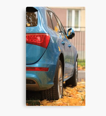 Autumn Car Canvas Print