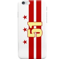 Smartphone Case - Flag of Washington DC 6 iPhone Case/Skin