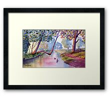 Late Summer at Brompton by Sawdon Framed Print