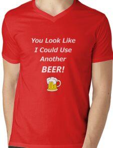 Beer Vision Mens V-Neck T-Shirt