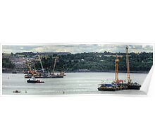 New Forth Crossing - 31 July 2013 Poster