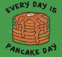Every Day Is Pancake Day Baby Tee