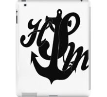High School M iPad Case/Skin