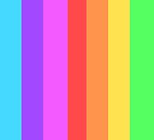 Rainbow of Colour by TomDesigns