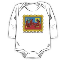 Goodnight Moon Three Little Bears Sitting on Chairs One Piece - Long Sleeve