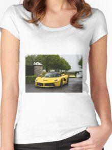 Ferrari LaFerrari Women's Fitted Scoop T-Shirt