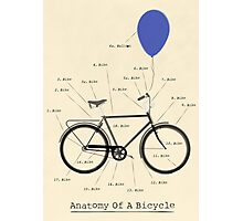 Anatomy Of A Bicycle Photographic Print