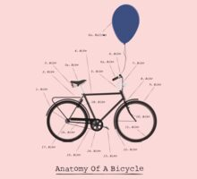 Anatomy Of A Bicycle Kids Clothes