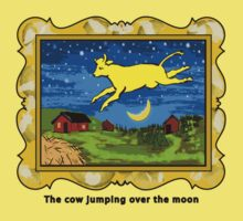 Goodnight Moon The Cow Jumping Over the Moon One Piece - Short Sleeve