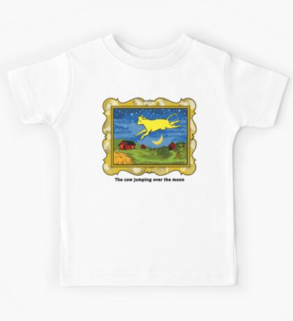 Goodnight Moon The Cow Jumping Over the Moon Kids Tee