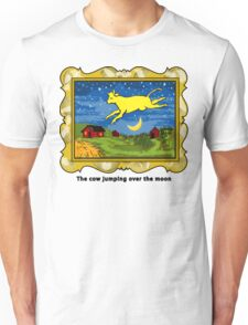 Goodnight Moon The Cow Jumping Over the Moon Unisex T-Shirt