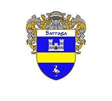 Sarraga Coat of Arms/Family Crest Photographic Print