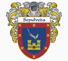 Sepulveda Coat of Arms/Family Crest Kids Tee