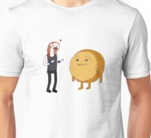 Pickles and Cinnamon Bun Unisex T-Shirt