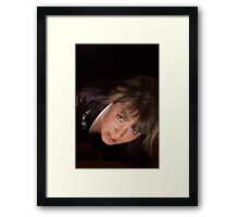 """An off the cuff shot from the """"Slasher"""" set Framed Print"""