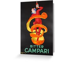 Campari Orange Greeting Card