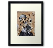 shakespeare as an abstracted concept  Framed Print