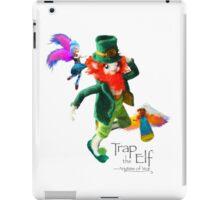 Trap the Elf™ (aka Leprechaun) iPad Case/Skin