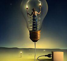 O Senhor da Luz. by Marcel Caram